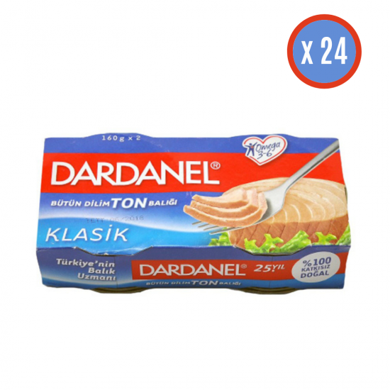 DARDANEL 160 GR TON BALIĞI 24 ADET