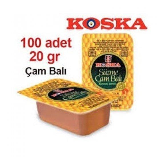 KOSKA PİKNİK BAL 20 GR 100'LÜ