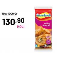 SUPERFRESH 1000 GR  MİLFÖY HAMURU