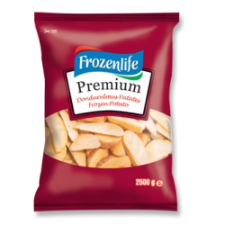 FROZEN LİFE DOND.ELMA DİLİM PATATES 2.5 KG