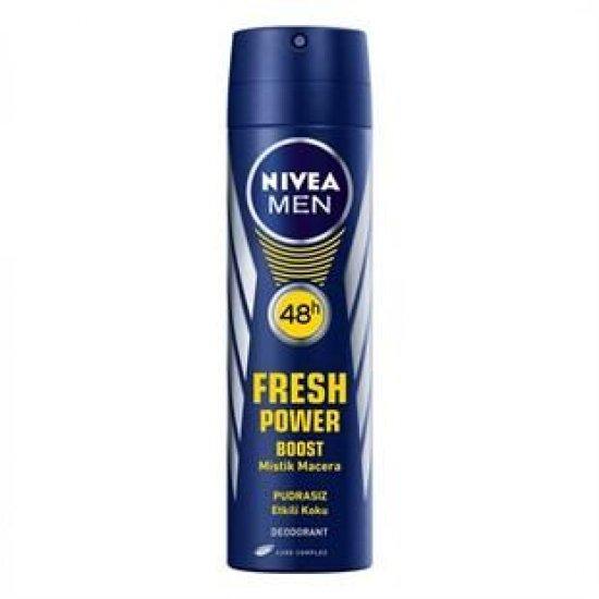 Nivea Men Fresh Boost Sprey Deodorant 150 ml