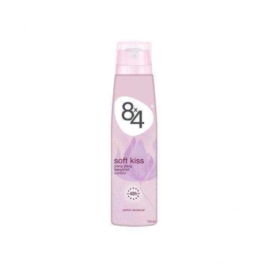8X4 Soft Kiss Sprey Deodorant 150Ml