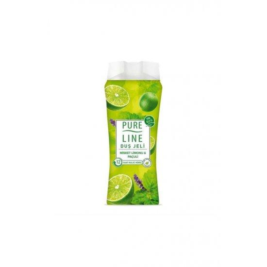 Pure Line Misket Limonu Ve Paçuli Duş Jeli 400 ml